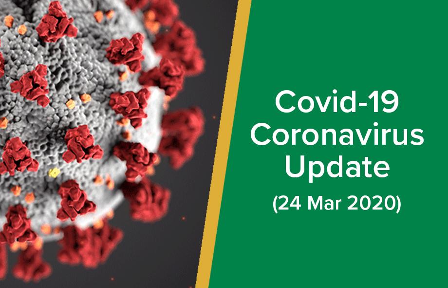 Covid 19 – Coronavirus Announcement