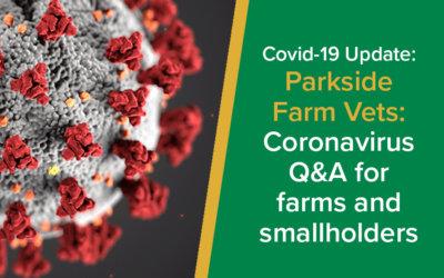 Coronavirus Q&A for Farm and Smallholders | Parkside Farm Vets