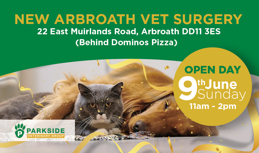 New Arbroath Vet Surgery now open! - Parkside Vets