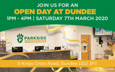 Open Day at Parkside Veterinary Group Dundee